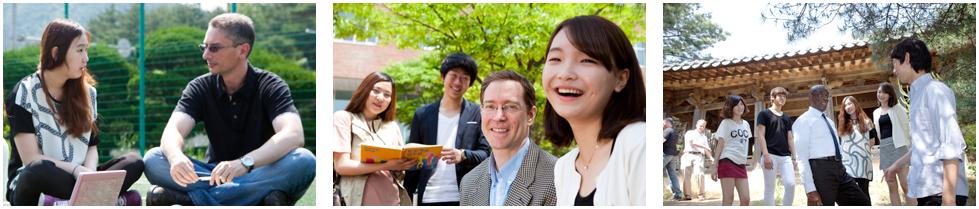 외국인 교원과의 프로그램 사진